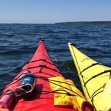 Klean Kanteen 16oz Insulated goes sea kayaking in Lake Superior's Apostle Islands. - Kelsey