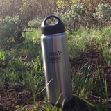 You know what's nice... taking a drink of sweet COLD water at the end of an epic hike. Thank you vacuum insulated Klean Kanteen for making that happen! - Katherine