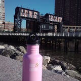 One of my favorite parts of using my Klean Kanteen in NYC is bumping into other people who also use them. Whether it is comparing colors or just a wink, it's an awesome feeling to be apart of this eco-friendly community. I'm addicted!
