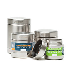 Stainless Steel Food Canisters and Containers